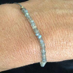 Jewelry - Labradorite Adjustable Beaded Bracelet